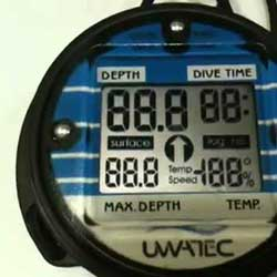 Uwatec timer