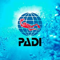 PADI Logo Aqua