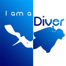 I am a Diver Logo 256px